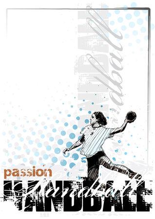 balonmano: Fondo de balonmano 3