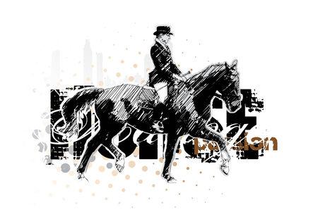 manege: horse 3