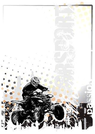 motorsport  background Stock Vector - 6703014