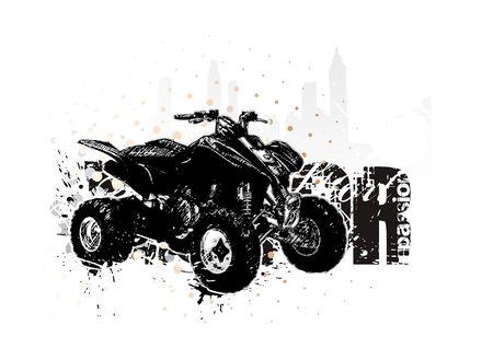 freeride: automovilismo 3 Vectores