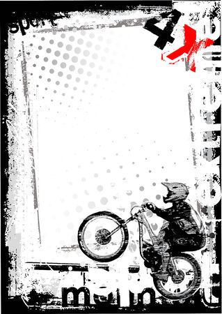 dirty bike 2 Vector