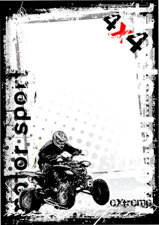 moto da cross: sporco automobilismo sportivo 1  Vettoriali