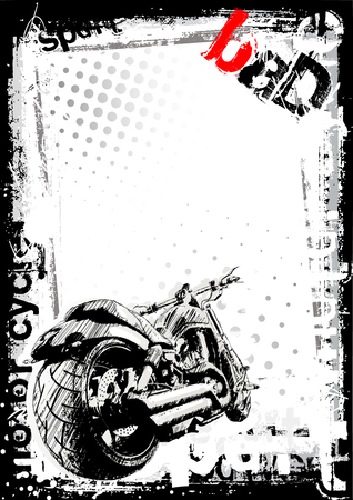 motor sport poster background