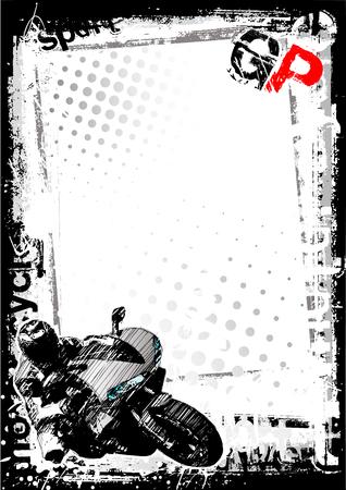 motorradhelm: Motorrad-dirty-Hintergrund