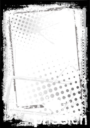 blemish: grungy frame