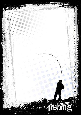 fisherman:   fishing background