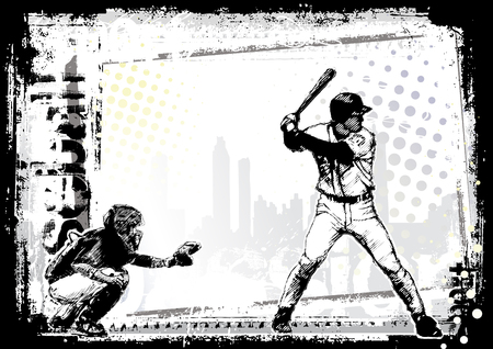 baseball game: baseball background 7