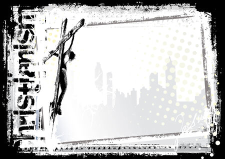 crucified: jesus background