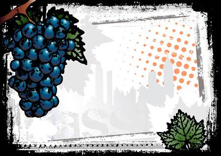 vine background Stock Vector - 7441925
