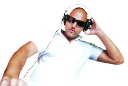 DJ en acci�n  Foto de archivo - 7532729