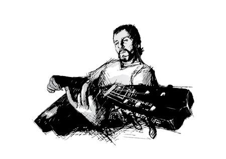 dersleri: gitarist