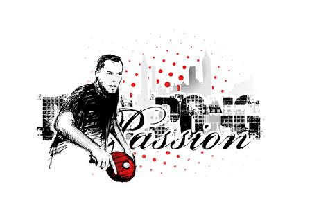 ping pong: Fondo de p�ster de ping pong  Vectores