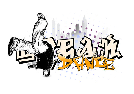 street dance: break dancer