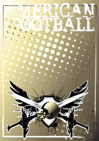 american football background 1 Vector