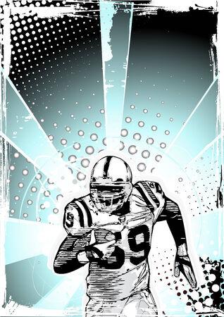 teammate: american football background