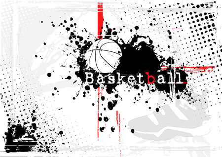 basketball background Illustration