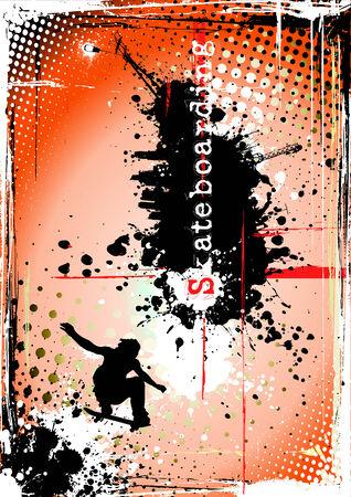 dirty skateboarding poster