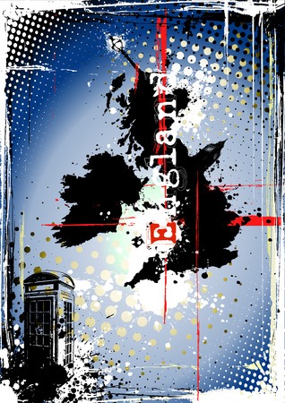 england background Vector