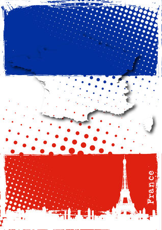 french poster Vector