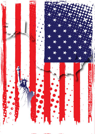 poster of usa Stock Vector - 8508421