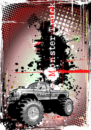 motorsports: monster truck frame 2