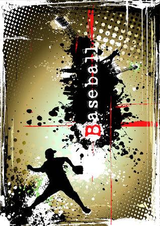 dirty baseball poster