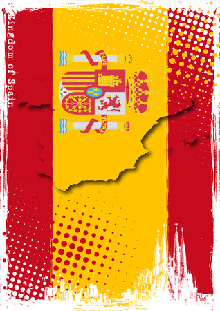 spain poster Stock Vector - 8579995