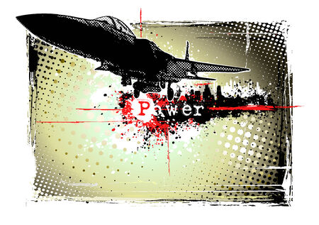 bomber: airplane frame