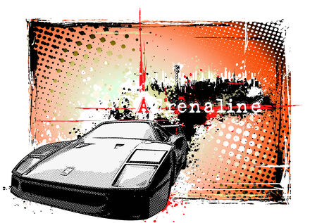 adrenaline: car frame