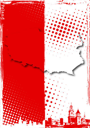 cracow: poster of poland
