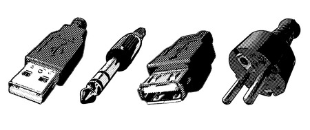 adapter: connectors Illustration
