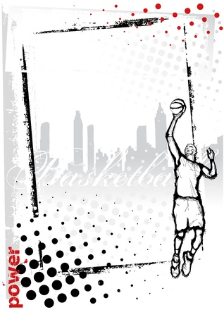 panier basketball: cadre de basket-ball