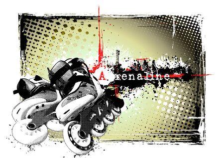 adrenalina: P�ster en l�nea
