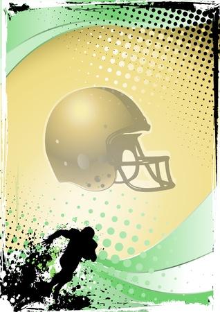 american football Stock Vector - 9482014