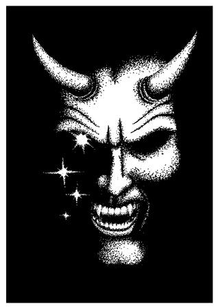 the devil  イラスト・ベクター素材