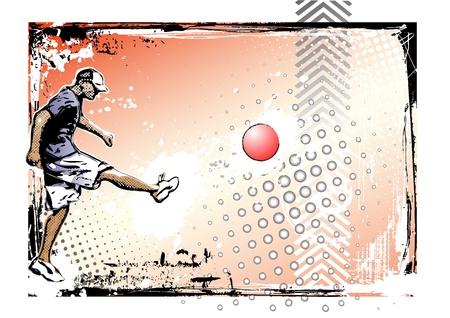 sporting event: kickball poster