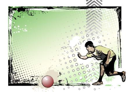 kickball poster 3 Vector