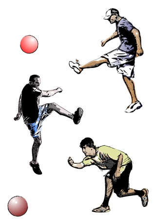 kickball: kickball trio