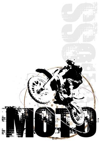 motocross poster background