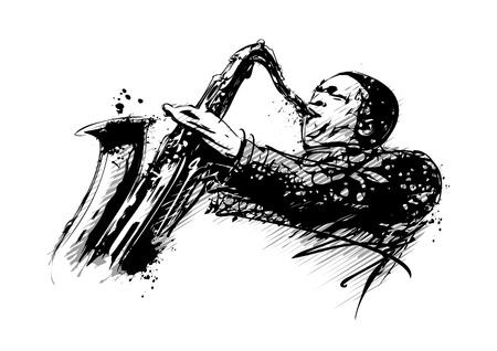 jazzman illustration