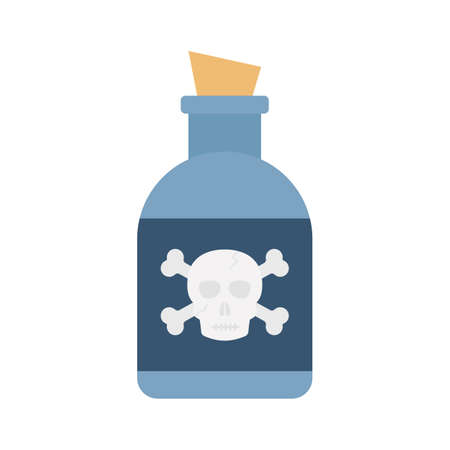 Magical Jar flat vector icon which can easily modify or edit 일러스트