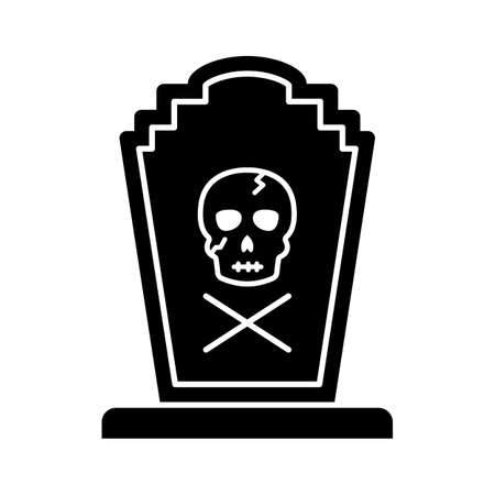 Funeral flat vector icon which can easily modify or edit