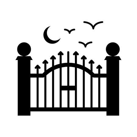 doorway flat vector icon which can easily modify or edit