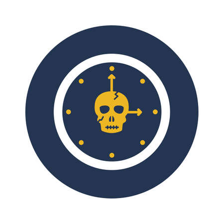 Time machine flat vector icon which can easily modify or edit