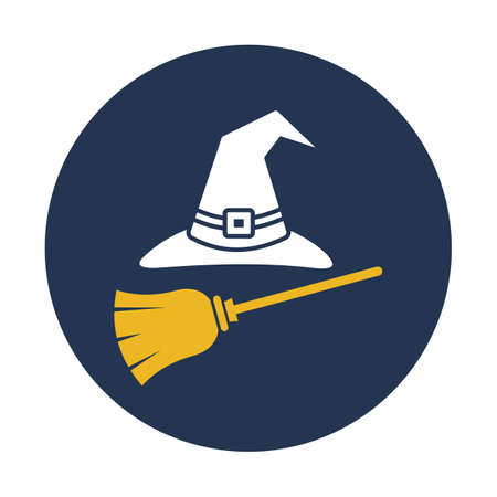 Witch accessories flat vector icon which can easily modify or edit
