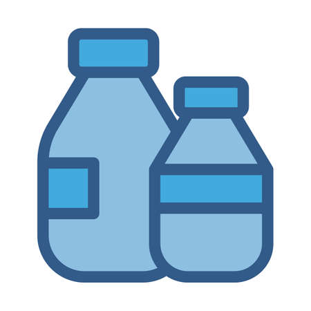 Jar fill vector icon which can easily modify or edit