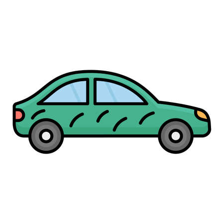 Car cleaning Isolated Vector icon that can be easily modified or edited