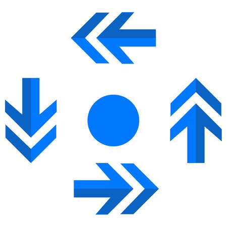 around arrow Isolated Vector icon which can easily modify or edit