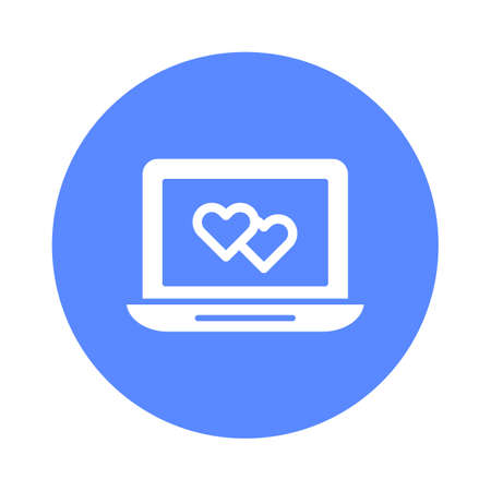Heart with home Isolated Vector icon that can be easily modified or edited