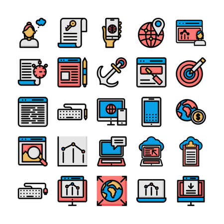 Web and seo Isolated Vector icon which can easily modify or edit